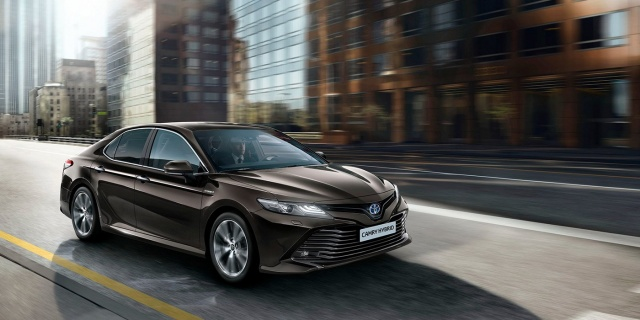 Europe will again receive a Toyota Camry sedan