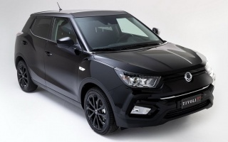 SsangYong presented the first special version of Tivoli
