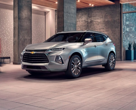 Debuts of the new Chevrolet Blazer 2019