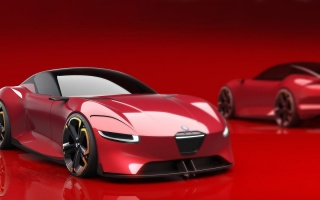 Alfa Romeo will make from sportscar 8C an 800 hp hybrid'