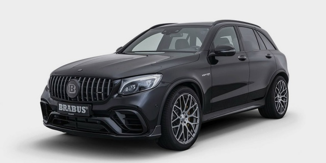 "Brabus created the Mercedes-Benz GLC with 600 ""horsepower"""