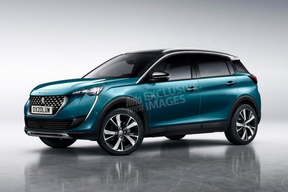 The new generation of Peugeot 2008 appeared in an exclusive drawing