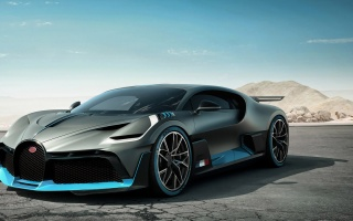 Bugatti Divo appeared in all glory