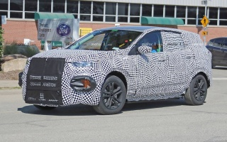 Ford tests mysterious SUV