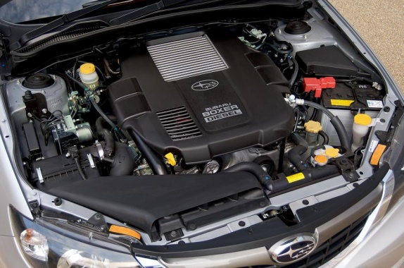 Subaru removes diesel engines from the UK market