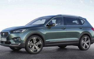Seat Tarraco SUV for 7 seats debuted