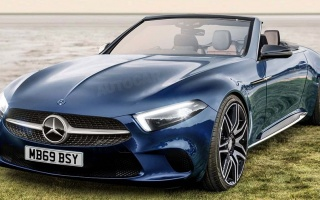 A new generation of Mercedes-Benz SL preparing for 2020