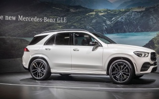 Mercedes-Benz declassified a new generation of GLE In Paris
