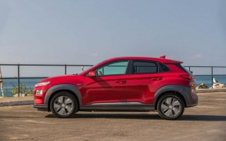 Hyundai Kona Electric will drive 415 km on a single charge