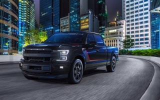 Roush showed improved Ford F-150