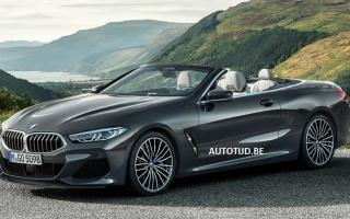 Declassified an exterior of the open BMW 8-Series