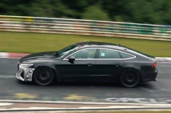 New Audi RS7 Sportback spotted on the test