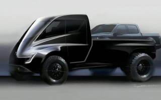 Tesla pickup will be made in the cyberpunk style