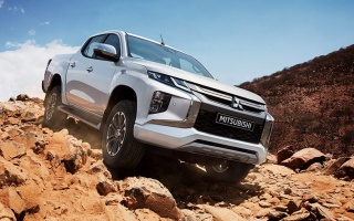 Updated Mitsubishi L200 declassified