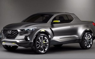 Hyundai pick-up is preparing a base of future Tucson