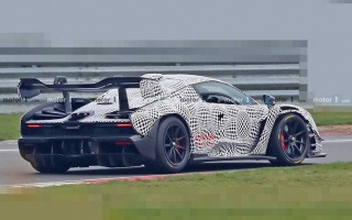 McLaren started testing the Senna hypercar track version
