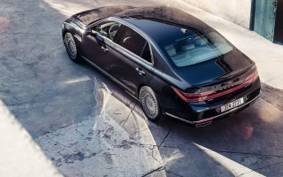 2020 Genesis G90 flagship updated