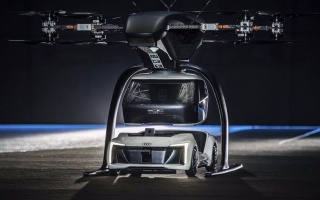 Audi and Airbus tested the first flying taxi