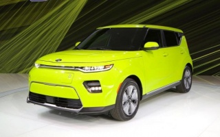 A new Kia Soul debuted in Los Angeles