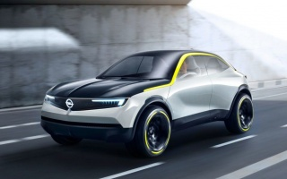 New Opel Mokka X prepared for electric vehicle SUV
