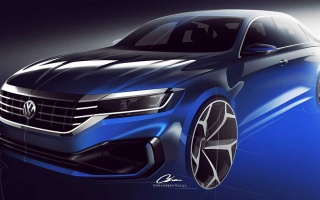 Volkswagen Passat appeared on official pictures