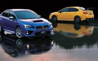 The new Subaru WRX STI arrives in Detroit