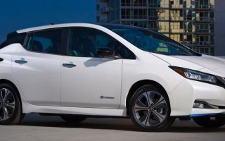 Nissan Leaf improved electric car introduced