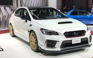 Officially debuted the most powerful Subaru in history