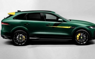 Jaguar F-Pace Got More Power and Design Elements