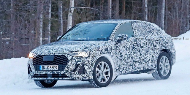 Audi's new coupe SUV tests