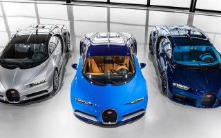Bugatti does not build an SUV