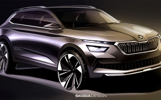 Skoda has demonstrated the appearance of a new compact SUV for Europe