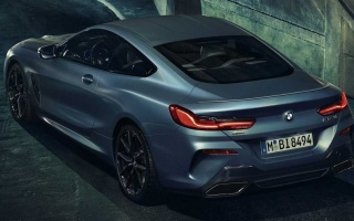 The first special version of the BMW 8-Series appeared in the photo