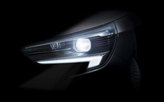 New Opel Corsa has shown matrix LED-headlamp
