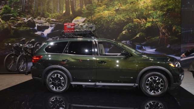 A full-size SUV from Nissan debuted in Chicago
