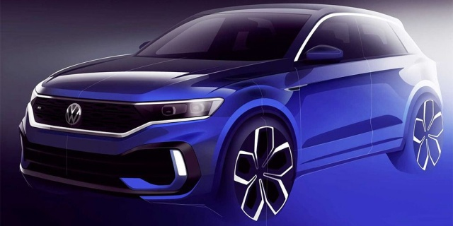 Heavy-Duty Volkswagen T-Roc Design Reveals