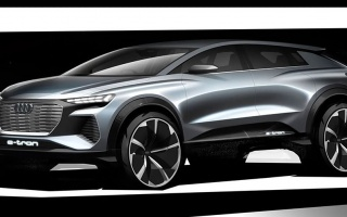 Audi showed a new crossover in the first images