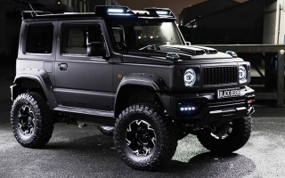 Suzuki Jimny tried to be like Gelandewagen
