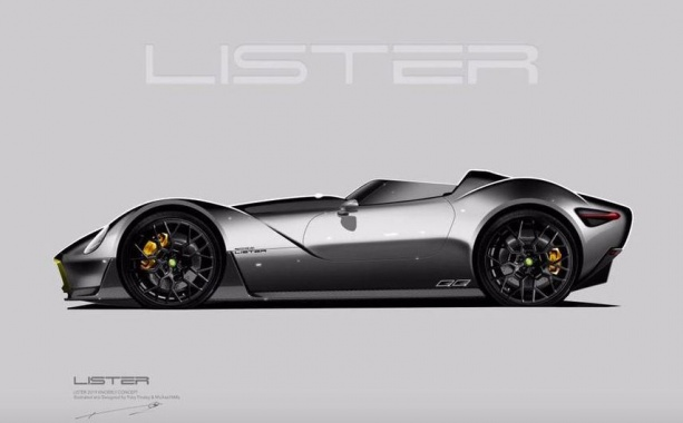 Lister is preparing a modern version of a racing 1950s car
