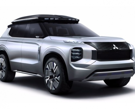 The future Mitsubishi Outlander will prepare a 3-row salon and a hybrid installation