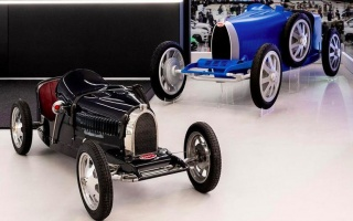 Bugatti showed a children's car for 30,000 euros