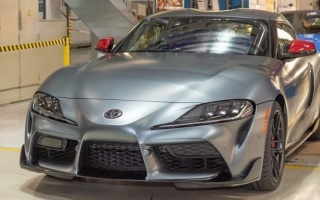 The revived Toyota Supra left the conveyor in a first copy