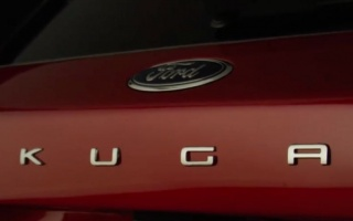 Newest Ford Kuga appears on the first image