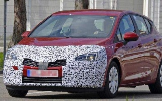 New Opel Astra on tests