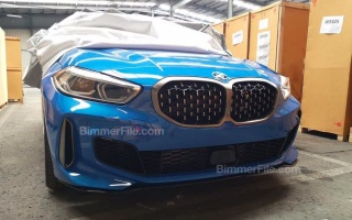 BMW 1-Series early declassifies in the photo