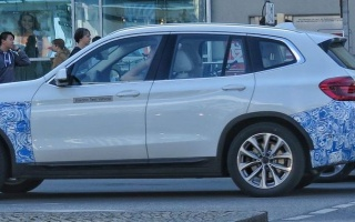BMW iX3 electric SUV was tested in Munich