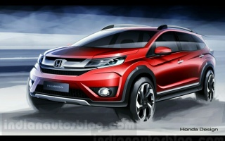 New Honda BR-V announced on Indonesia International Motor Show