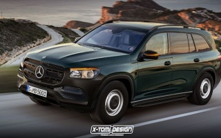 The Mercedes-Benz GLS version of X-Tomi Design