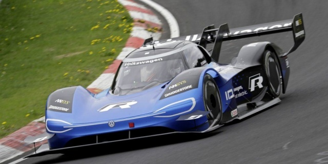 Volkswagen ID. R - the fastest electric car of the Nurburgring