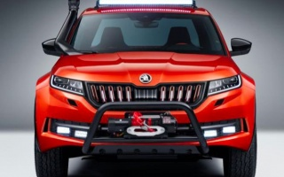 Skoda students made a cool Kodiaq pickup